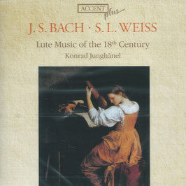 Johann Sebastian Bach, Silvius Leopold Weiss: Lute Music of the 18th Century (Accent)