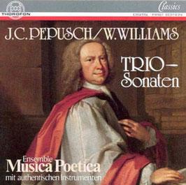 Johann Christoph Pepusch, William Williams: Trio-Sonaten (Thorofon)