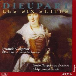 François Dieupart: Les Six Suites (2CD, Atma)