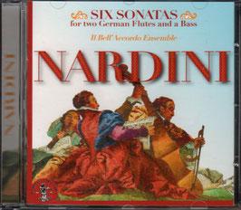 Pietro Nardini: Six Sonatas for two German Flutes and a Bass (La Bottega Discantia)
