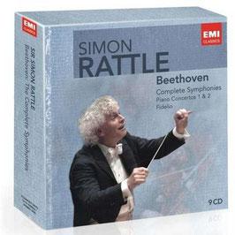 Ludwig van Beethoven: Complete Symphonies, Piano Concertos 1 & 2, Fidelio (9CD, EMI)