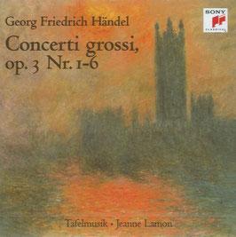 Georg Friedrich Händel: Concerti grossi, op. 3 (Sony Vivarte)