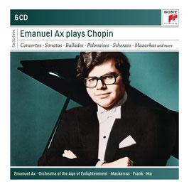 Frédéric Chopin: Emanuel Ax plays Chopin (6CD, Sony)