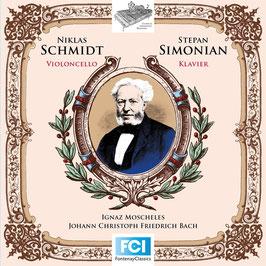 Ignaz Moscheles: Zehn Präludien aus dem Wohltemperierten Klavier von J.S. Bach mit einer hinzukomponierten Violoncellostimme op. 137a (Fontenay)