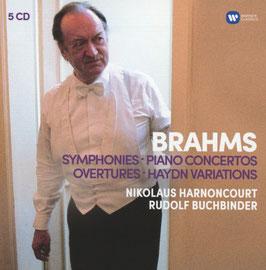 Johannes Brahms: Symphonies, Piano Concertos, Overtures, Haydn Variations (5CD, Warner)