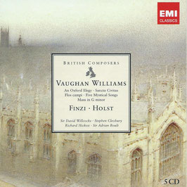 British Composers: Vaughan Williams, Finzi, Holst (5CD, EMI)