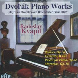 Antonín Dvorák: Piano Works playd on Dvorák's own Bösendorfer Piano 1879 (Alto)