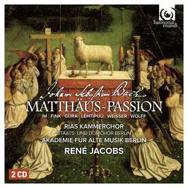 Johann Sebastian Bach: Matthäus-Passion (2CD, Harmonia Mundi)