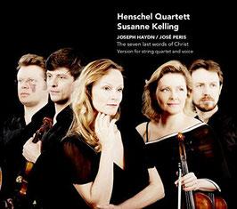 Joseph Haydn, José Peris: The seven last words of Christ, Version for string quartet and voice (Challenge Classics)