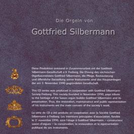 Die Orgeln von Gottfried Silbermann (4CD, Querstand)