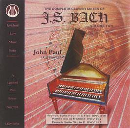 Johann Sebastian Bach: The Complete Clavier Suites, Volume Two (Lyrichord)