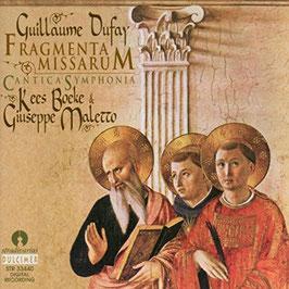 Guillaume Dufay: Fragmenta Missarum (Stradivarius Dulcimer)