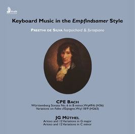 Johann Gottfried Müthel, Carl Philipp Emanuel Bach: Keybaord Music in the Empfindsamer Style (FHR)