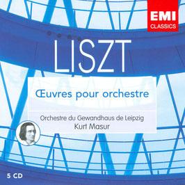Franz Liszt: Oeuvres pour orchestre (5CD, EMI)
