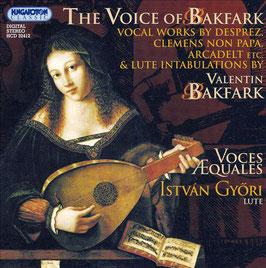 Valentin Bakfark: The voice of Bakfark (Hungaroton)