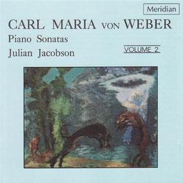 Carl Maria von Weber: Piano Sonatas, volume 2 (Meridian)