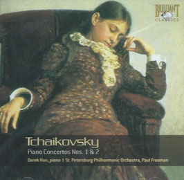 Pyotr Ilyich Tchaikovksy: Piano Concertos Nos. 1 & 2 (Brilliant)