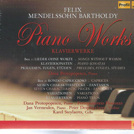 Felix Mendelssohn-Bartholdy: Piano Works (8CD, Hänssler Profil)