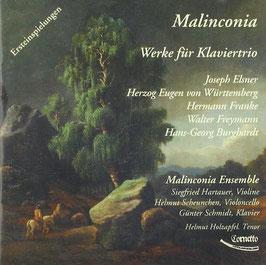 Malincolnia, Werke für Klaviertrio: Elsner, Herzog Eugen von Württemberg, Franke, Freymann, Burghardt) (Cornetto)