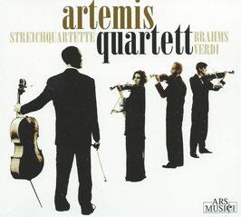Giuseppe Verdi, Johannes Brahms: Streichquartette (Ars Musici)