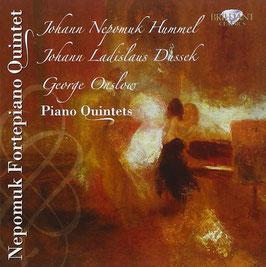 Johann Nepomuk Hummel, Johann Ladislav Dussek, George Onslow: Piano Quintets (Brilliant)