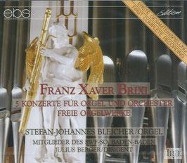 Franz Xaver Brixi: 5 Konzerte für Orgel und Orchester, Freie Orgelwerke (2CD, EBS)