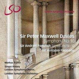 Peter Maxwell Davies: Symphony No 10, Andrzej Panufnik: Symphony No 10 (SACD, LSO Live)