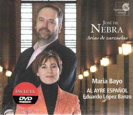 José de Nebra: Arias de zarzuelas (CD, DVD, Harmonia Mundi)