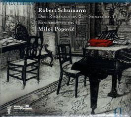 Robert Schumann: Drei Romanzen op. 28, Sonata op. 11, Kinderszenen op. 15 (Fuga Libera)