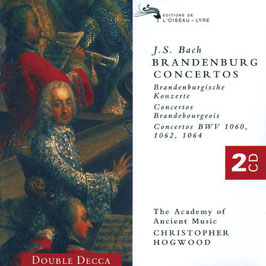 Johann Sebastian Bach: Brandenburg Concertos BWV 1046-1051 (2CD, L'Oiseau-Lyre)