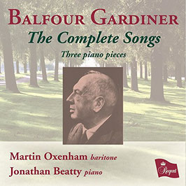 Balfour Gardiner: The Complete Songs, Three piano pieces (Regent)