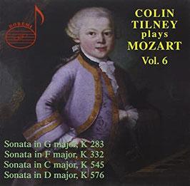 Wolfgang Amadeus Mozart: Colin Tilney plays Mozart VI (Doremi)