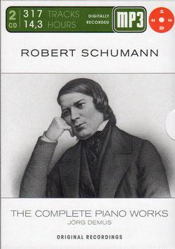 Robert Schumann: The Complete Piano Works (2MP3-CDrom, Membran, 14 uur muziek)