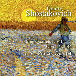 Dmitri Shostakovich: String Quartets Nos. 14, 15 (SACD, Praga)