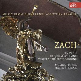 Jan Zach: Requiem Solemne, Vesperae de Beata Vergine (Suyprahon)
