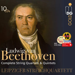 Ludwig van Beethoven: Complete String Quartets & Quintets (10CD, MDG)