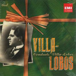 Heitor Villa=Lobos: Villa-Lobos conducts Villa-Lobos (6CD, EMI)