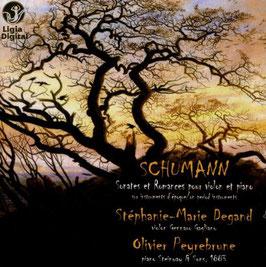 Robert Schumann: Sonates et Romances pour violon et piano (Ligia Digital)