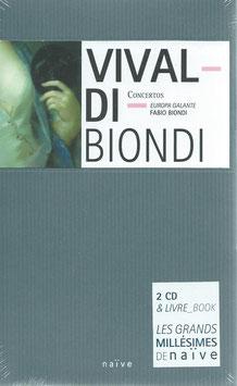 Antonio Vivaldi: Concertos (2CD, Boek, Naïve)