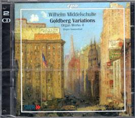 Wihelm Middelschulte: Goldberg Variations (2CD, CPO)