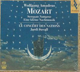 Wolfgang Amadeus Mozart: Serenate Notturne, Eine kleine Nachtmusik (SACD, Alia Vox)