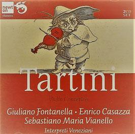 Giuseppe Tartini: Violin Concertos (2CD, Newton)