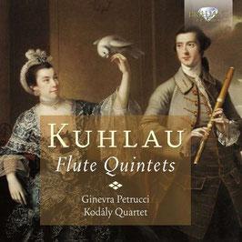 Friedrich Kuhlau: Flute Quintets (Brilliant)