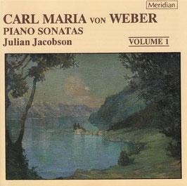 Carl Maria von Weber: Piano Sonatas, volume 1 (Meridian)