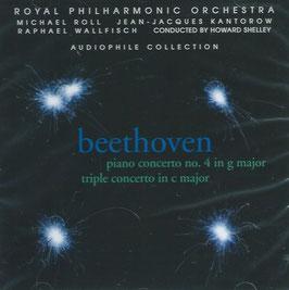 Ludwig van Beethoven: Piano Concerto no. 4 in g major, Triple Concerto in c major (RPM)