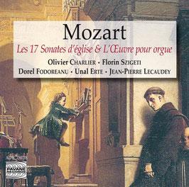 Wolfgang Amadeus Mozart: Les 17 Sonates d'église & L'Oeuvre pour orgue (2CD, Pavane)