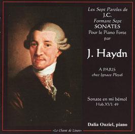Joseph Haydn: Les Sept Paroles de J.C. Formant Sept Sonates Pour le Piano Forte par J. Haydn A Paris chez Ignace Pleyel, Sonate en mi bémol Hob. XVI: 49 (Le Chant de Linos)
