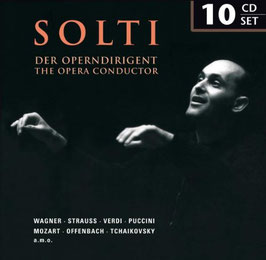 Solti, The Opera Conductor (10CD, Membran)
