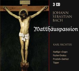 Johann Sebastian Bach: Matthäus Passion (3CD, Membran)