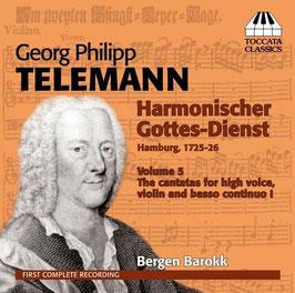 Georg Philipp Telemann: Harmonischer Gottes-Dienst volume 5 (Toccata)